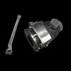 Шаровой кран для абразивов Prokosch 80 mm (3'') с ускорителем