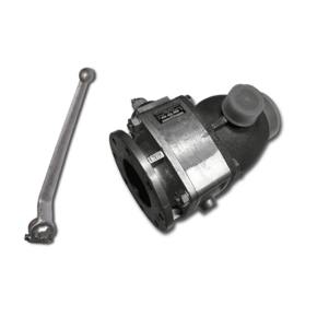 Шаровый кран Prokosch с ускорителем 80 mm