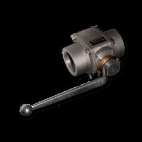 Шаровой кран для абразивов ZR 65 mm (2 1/2'')