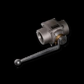 Шаровой кран для абразивов Prokosch 50 mm (2'')