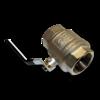 Кран воздушный шаровой 25 mm (1'')