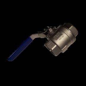 Кран воздушный термостойкий шаровой 25 mm (1'')