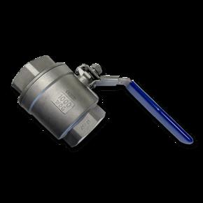Кран воздушный термостойкий шаровой 50 mm (2'')