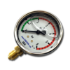 Манометр виброустойчивый NG 63, 0...6 bar (0-0.6 МПа) (резьба снизу)