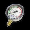 Манометр виброустойчивый NG 63, 0...4 bar (0-0.4 МПа) (резьба снизу)