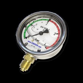 Манометр виброустойчивый, 4 bar (0.4 МПа) радиальный