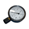 Манометр виброустойчивый NG 100, 0...6 bar (0-0.6 МПа)