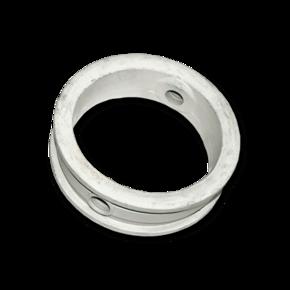 Уплотнитель поворотной заслонки Ebro 100 mm, белый