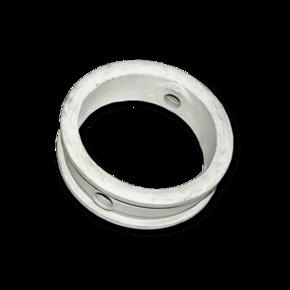 Уплотнитель поворотной заслонки 80 mm (нитрил-каучук, белый)