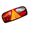 Фонарь задний ECOPOINT левый LED