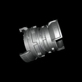 Переходник 125 / 103 mm (кардан-редуктор) муфт французского типа Guillemin