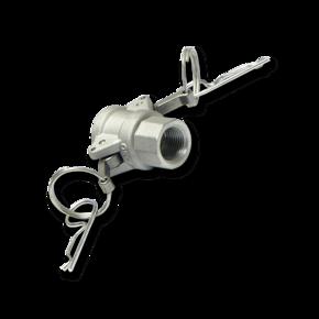 Быстросъемная муфта Camlock D50 с внутренней резьбой ½''