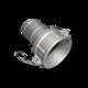 Муфта Camlock C300 для шланга 75 mm, AL