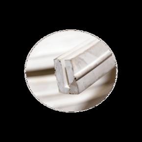 Уплотнитель мерный заливного люка профиль 23x15 mm