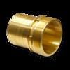 Штуцер для шланга Elaflex 50 mm с наружной резьбой, кромка, латунь