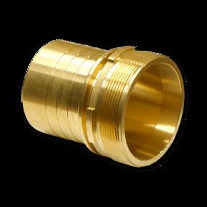 Штуцер для шланга Elaflex 50 mm с наружной резьбой, кромка (латунь)