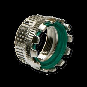 Муфта Elaflex 80 mm (уплотнительное кольцо) с внутренней резьбой (сталь)