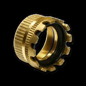 Муфта Elaflex 80 mm (уплотнительное кольцо) с внутренней резьбой (латунь)