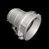 Быстросъемная муфта Camlock для шланга 100 mm (принимающая часть)
