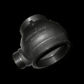 Ускоритель резьбовой 100 mm (для установки на трубопровод)