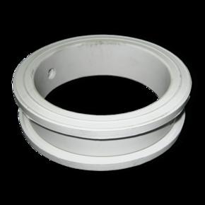 Уплотнитель поворотной заслонки Вurgmer 100 mm, белый