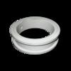 Уплотнитель поворотной заслонки Burgmer 80 mm, белый