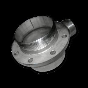 Передняя часть ускорителя шарового крана 80 мм