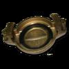 Заглушка (крышка) Tankwagen 50 mm, латунь