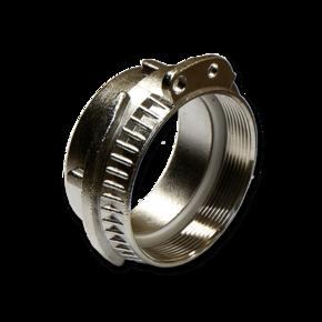 Муфта Elaflex 100 mm с внутренней резьбой (сталь)