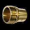Штуцер для шланга Elaflex 75 mm с наружной резьбой (латунь)