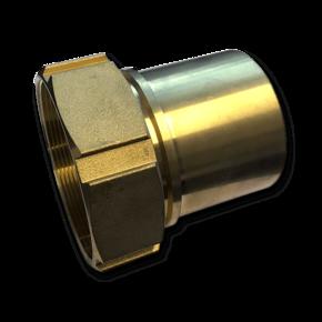 Штуцер для шланга Elaflex 100 mm с внутренней резьбой (латунь)