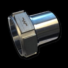 Штуцер для шланга Elaflex 75 mm с внутренней резьбой (сталь)