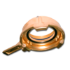 Зажимное кольцо с рычагом Tankwagen 100 mm с внутренней резьбой, сталь