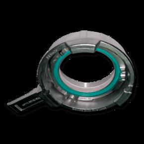 Зажимное кольцо с рычагом Tankwagen 100 mm с внутренней резьбой, SS