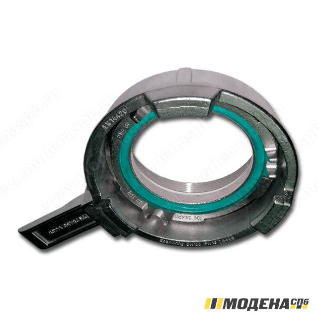 Зажимное кольцо MK TW с рычагом 100 mm с внутренней резьбой, SS