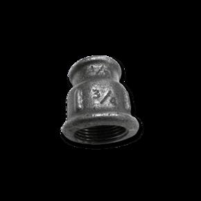 Резьбовой фитинг GF муфта переходник 1/2'' - 1/4''