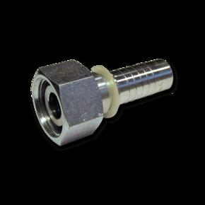 Фитинг гидравлический DKOS 25S прямого исполнения, конус 24°, M32