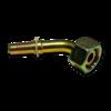 Фитинг гидравлический DKOS 25S углового исполнения 45°, конус 24°