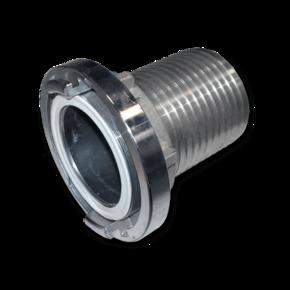 Быстросъемная муфта для шланга 127 mm, пилообразный профиль