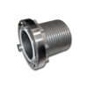 Быстросъемная муфта для шланга 152 mm, пилообразный профиль