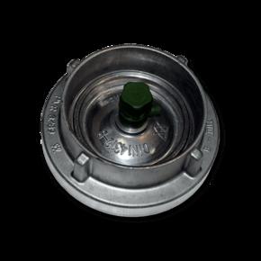 Заглушка для быстросъемной муфты 66 mm со сливным краном