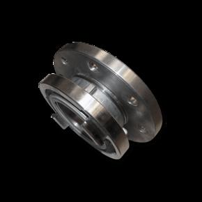 Редуктор 89 mm - фланец DN50 (переходник муфт Storz B)