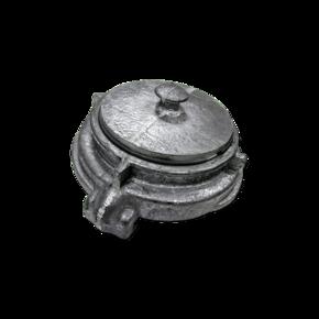 Заглушка муфтовая пожарная ГЗ-100, AL