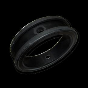 Уплотнитель поворотной заслонки Ebro 200 mm, черный