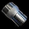 Резьбовое шланговое соединение (штуцер) 75 mm (3'')