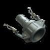 Муфта Camlock C100 для шланга 25 mm, AL