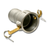 Муфта Camlock C500 для шланга 125 mm, AL