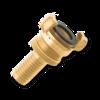 Муфта Geka с регулировочным кольцом для шланга 13 mm (1/2''), MS