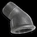 Угловые фитинги GF 45 градусов с внутренней и наружной резьбой